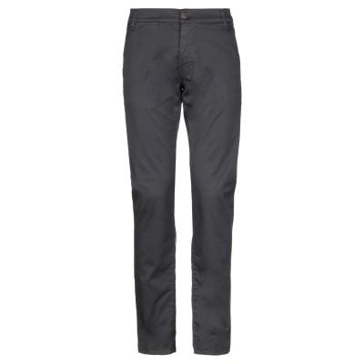 メッサジェリエ MESSAGERIE パンツ 鉛色 31 コットン 97% / ポリウレタン 3% パンツ