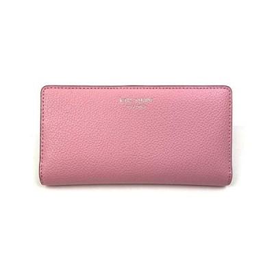 Kate Spade New York スリムEVAレザー二つ折り財布, 明るいカーネーション, L