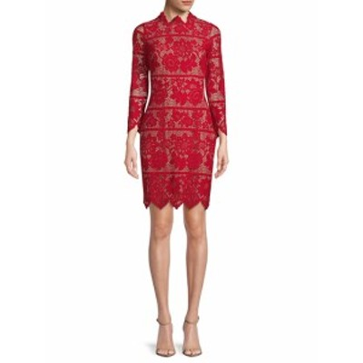 フォーラブ&レモンズ レディース ワンピース Rosetta Lace Sheath Dress