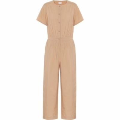 ウールリッチ Woolrich レディース オールインワン ジャンプスーツ ワンピース・ドレス cotton-poplin jumpsuit Biscuit