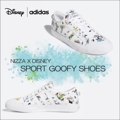アディダス スニーカー レディース メンズ ディズニー グーフィー adidas NIZZA DISNEY SPORT GOOFY SHOES