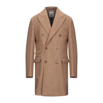 イレブンティ ELEVENTY コート キャメル 52 ウール 65% / 毛(アルパカ) 25% / ナイロン 10% コート