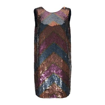 ツインセット シモーナ バルビエリ TWINSET ミニワンピース&ドレス パープル 38 ポリエステル 100% ミニワンピース&ドレス
