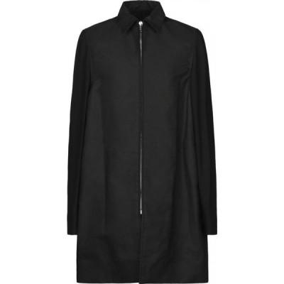 リック オウエンス RICK OWENS メンズ コート アウター full-length jacket Black