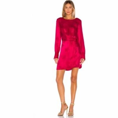 ワンステート 1. STATE レディース ワンピース ワンピース・ドレス Floral Jacquard Dress Retro Pink