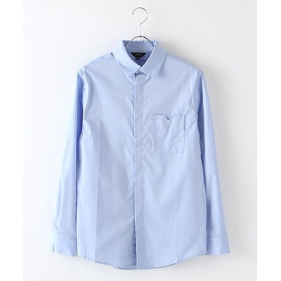 DGBH/ディージービーエイチ メンズ・コットンドレスシャツ スカイブルー L