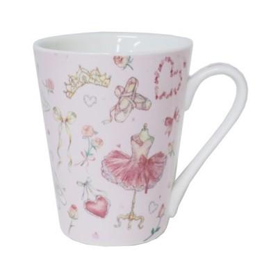 マグカップ たけいみき 陶器製MUG クローズピン バレエ グッズ ギフト雑貨 ガーリーイラスト