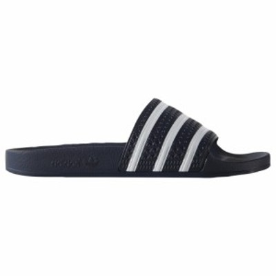 アディダス adidas Originals メンズ サンダル シューズ・靴 Originals Adilette Slide New Navy/White/New Navy