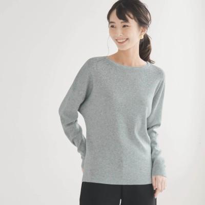華やかな繊細ビジュー使いニット(花笑むとき/hana emu toki)