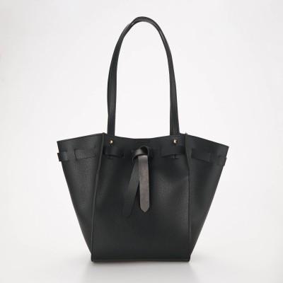 1枚仕立ての巾着デザイントートバッグ