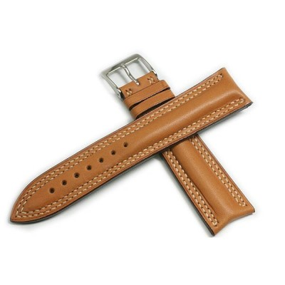 時計ベルト JCペラン スープルカーフ キャメル