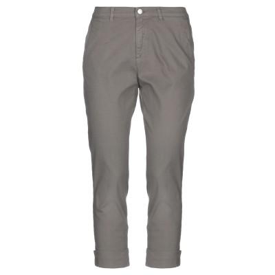 BIANCALANCIA パンツ 鉛色 42 コットン 97% / ポリウレタン 3% パンツ