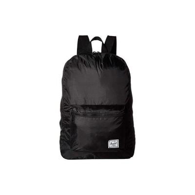 ハーシェル サプライ Packable Daypack メンズ バックパック リュックサック Black