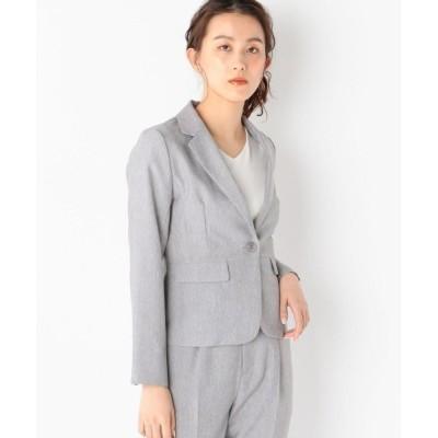 MEW'S REFINED CLOTHES / ウォッシャブル接触冷感テーラードジャケット WOMEN ジャケット/アウター > テーラードジャケット