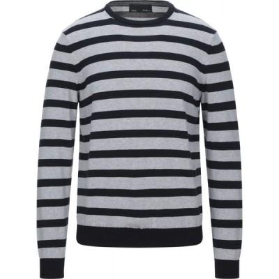 ブルー レ コパン BLUE LES COPAINS メンズ ニット・セーター トップス Sweater Dark blue