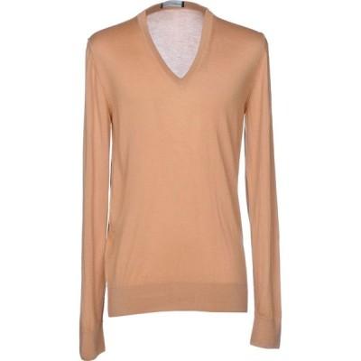 ドルチェ&ガッバーナ DOLCE & GABBANA メンズ ニット・セーター トップス cashmere blend Camel