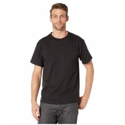 ヘインズ メンズ シャツ トップス Beefy-T Crew Neck Short Sleeve T-Shirt Black
