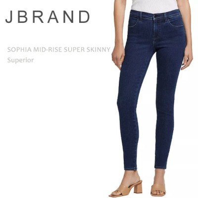 J Brand ジェイブランド SOPHIA MID RISE SUPER SKINNY Superior