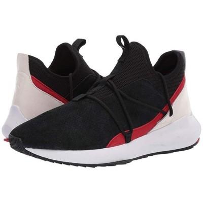 プーマ SF Evo Cat II Suede LS メンズ スニーカー 靴 シューズ Puma Black/Rosso Corsa/Pastel Parchment