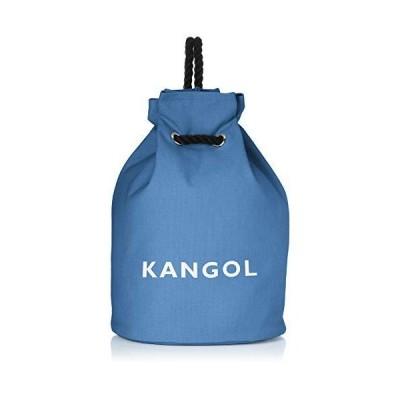 [カンゴール] トートバッグ 厚手コットンキャンバス ロープハンドル ボンサック リュック ブルー