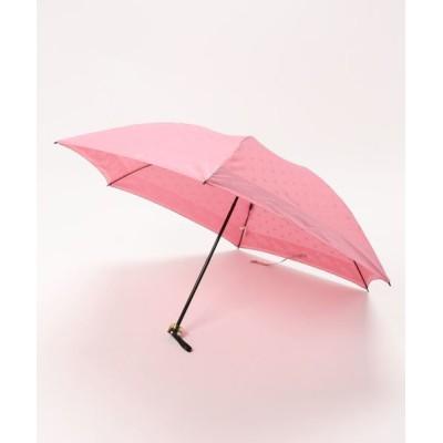 """MOONBAT / 折りたたみ傘 """"ジャガード"""" WOMEN ファッション雑貨 > 折りたたみ傘"""