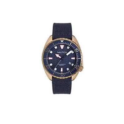 Nautica Men's Hammock NAPHAS903 Blue Cloth Quartz Fashion Watch並行輸入品