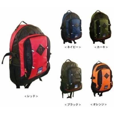 通気性良し 汗をかいても快適に デイパック 背面ウレタン入り  (8009) (リュックサック、ナップザック、ディパック、バッグ、鞄、かば