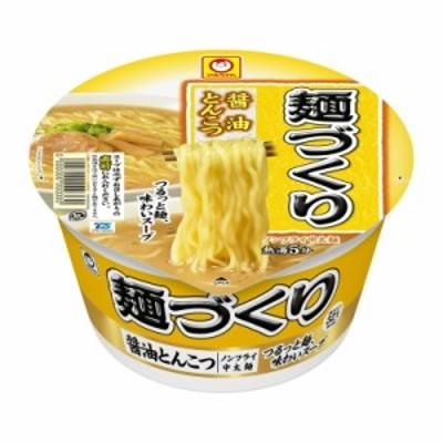 マルちゃん 麺づくり 醤油とんこつ 89g まとめ買い(×12) 4901990338929(dc)
