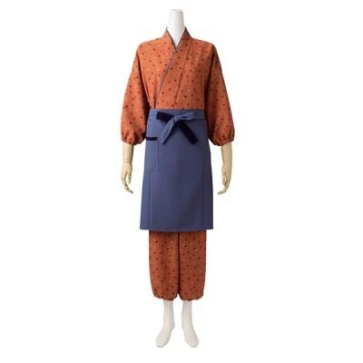 MONTBLANC 3-355 はっぴ(7分袖)(女性用) 【業務用】コック服