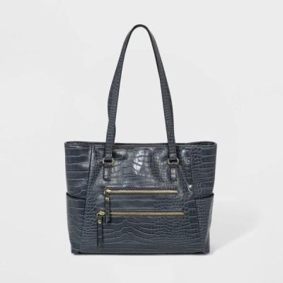 ブエノ Bueno of California レディース トートバッグ バッグ Bueno Snap Closure Tote Handbag Gray