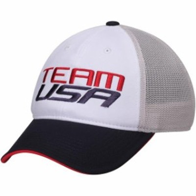 Outerstuff アウタースタッフ スポーツ用品  USA Olympics White Team USA Speed Performance Slouch Flex Hat