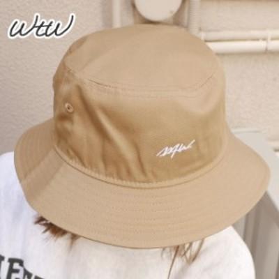 (2021新作)新品 ダブルティー WTW x ニューエラ NEW ERA BUCKET HAT バケット ハット BEIGE ベージュ ヘッドウェア