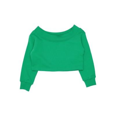 エムエスジーエム MSGM スウェットシャツ グリーン 4 コットン 100% スウェットシャツ