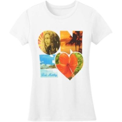 ガールズ 衣類 トップス Bob Marley One Heart Girls Jr White タンクトップ