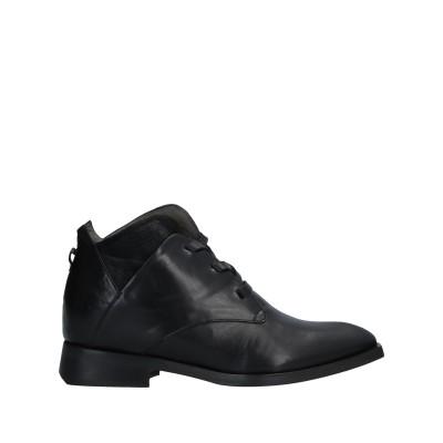 MALLONI ショートブーツ ブラック 36 革 ショートブーツ