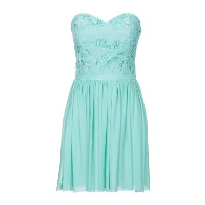 SOANI ミニワンピース&ドレス ライトグリーン 44 ポリエステル 100% ミニワンピース&ドレス