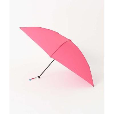 【ロウェル シングス】 ★折りたたみ傘/エクストラライトプレーン レディース ピンク F LOWELL Things