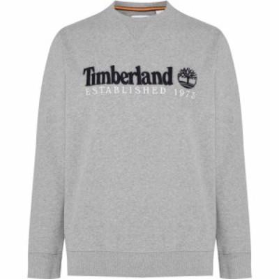 ティンバーランド Timberland メンズ スウェット・トレーナー トップス Outdoor Heritage Crew Sweatshirt Med Grey Hthr