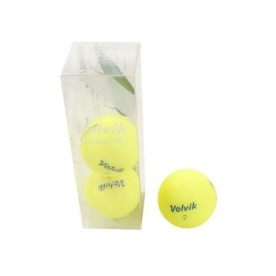 ボルビック(Volvik) ゴルフ ボール ビビット VIVID LITE 3個入り イエローL 3個入り (メンズ)