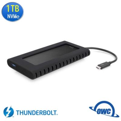 OWC Envory Pro EX 1TB Thunderbolt3 高速外接NVMe M.2 SSD行動硬碟