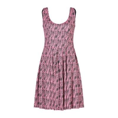 FOUDESIR ミニワンピース&ドレス ピンク M ポリエステル 55% / レーヨン 25% / Lurex® 18% / ポリウレタン 2%