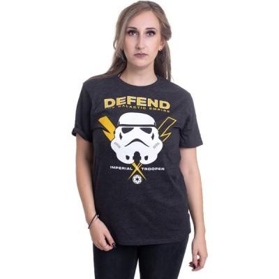 インペリコン Impericon レディース Tシャツ トップス - Defend Anthracite - T-Shirt grey