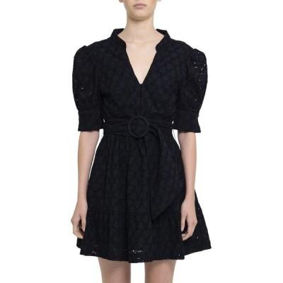 レベッカ・ヴァランス ワンピース トップス レディース Rebecca Vallance Valentina Mini Dress black