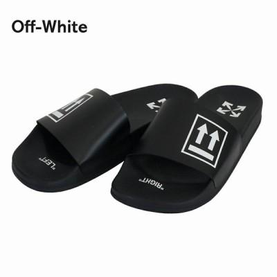 オフホワイト メンズ サンダル ビーチサンダル OMIA088R20C220561001 ブラック