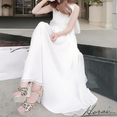 韓国 パーティードレス ロング ノースリーブ ワンピース ワンピドレス かわいい  お呼ばれ 20代 30代 40代