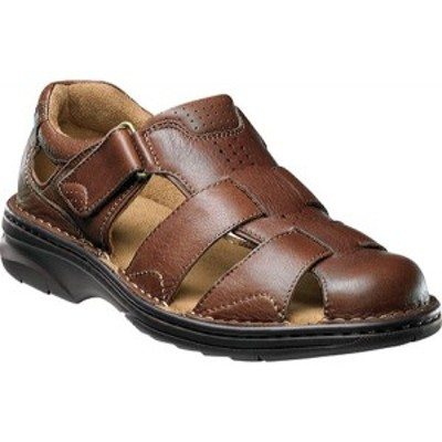 フローシャイム Florsheim メンズ シューズ・靴 Getaway Fisherman Brown Milled