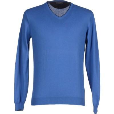 ロッソプーロ ROSSOPURO メンズ ニット・セーター トップス sweater Blue