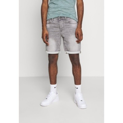 オンリーアンドサンズ デニムパンツ メンズ ボトムス ONSPLY - Denim shorts - grey denim