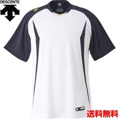 デサント(DESCENTE) 男女兼用 野球・ソフトボール用ウェア ベースボールシャツ DB-120-SWSN