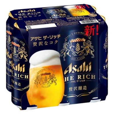 新ジャンル 第3のビール アサヒザリッチ 500ml 1パック(6本入) 缶